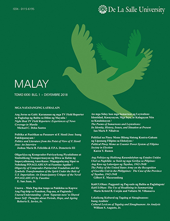 E-Journal | MALAY vol  31, no  1 (2018)