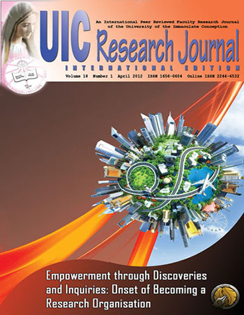 E-Journal | UIC Research Journal vol  19, no  1 (2013)