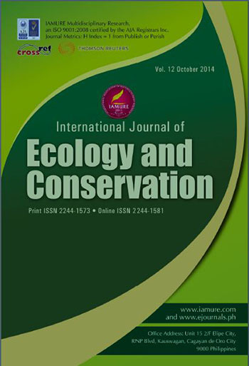 E-Journal | IAMURE International Journal of Ecology and