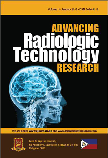 E-Journal | Advancing Radiologic Technology Research vol  1