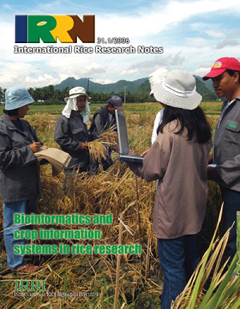 E-Journal | International Rice Research Notes vol  31, no  1 (2006)