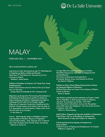 E-Journal | MALAY vol  24, no  2 (2012)